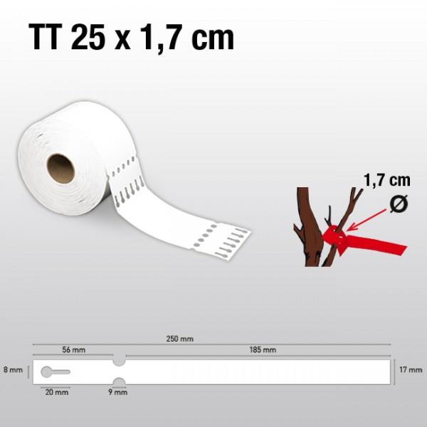 Schlaufenetiketten aus Tyvek TT17250