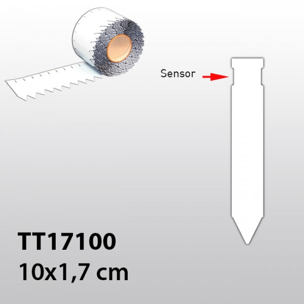 Stecketiketten für Thermotransferdrucker TT17100 PVC 300µ
