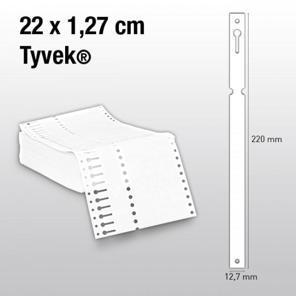 Schlaufenetiketten aus Tyvek ES220