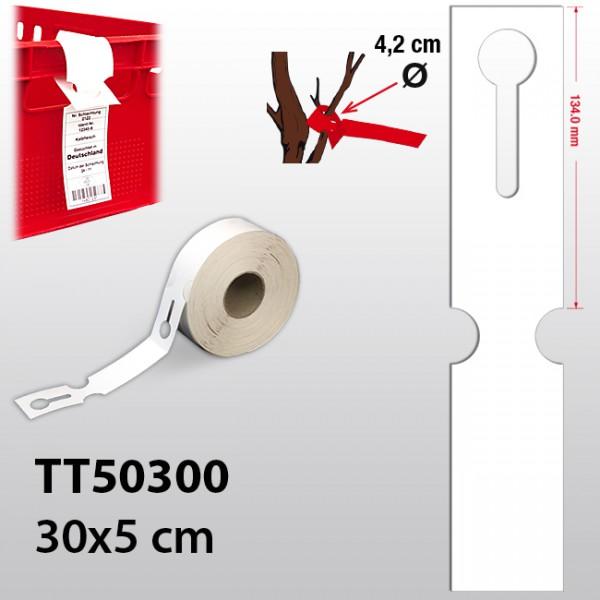 Schlaufenetiketten für Lebensmittel TT50300 HDPE 110