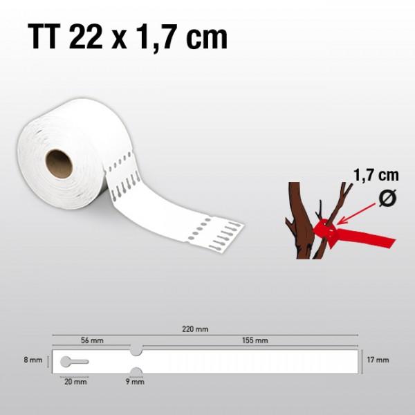 Schlaufenetiketten für Thermotransferdrucker TT17220 HDPE 200µ