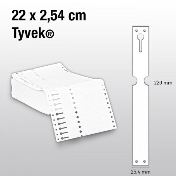 Schlaufenetiketten aus Tyvek EL220