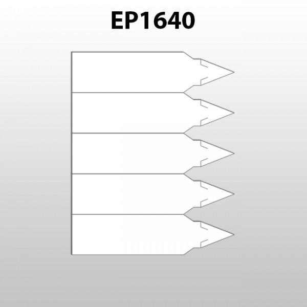 Stecketiketten aus Polyester für Laserdrucker EP1640