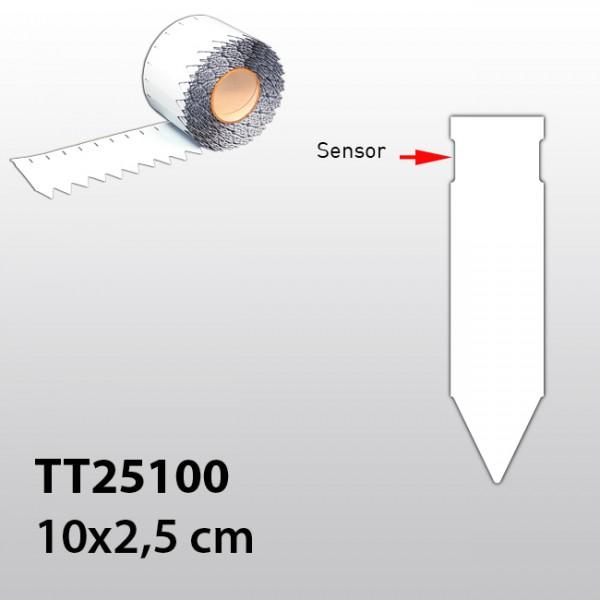 Stecketiketten für Thermotransferdrucker TT25100 PVC 300µ