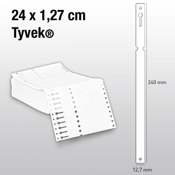 Schlaufenetiketten aus Tyvek ES240