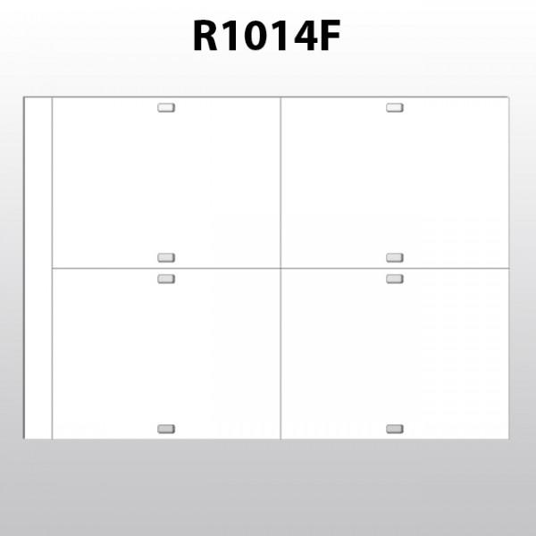 rechteckige Etiketten aus Polyester R1014F