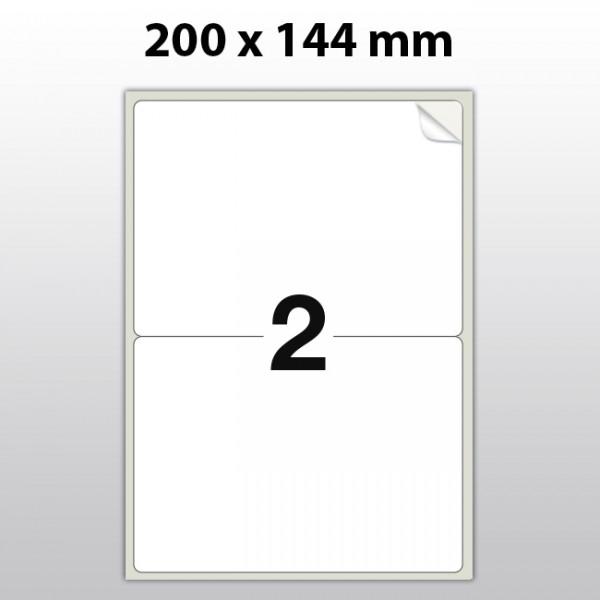 Klebeetiketten aus Polyester für Laserdrucker LA20144