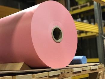 Etikettenmaterial-PVC Rollenware