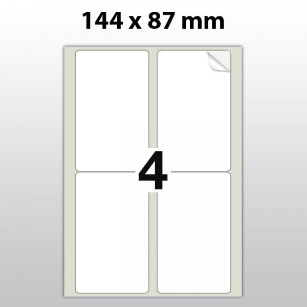 Klebeetiketten aus Polyester für Laserdrucker LA14487