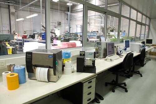 Produktion-Druckvorstufe-Etiketten