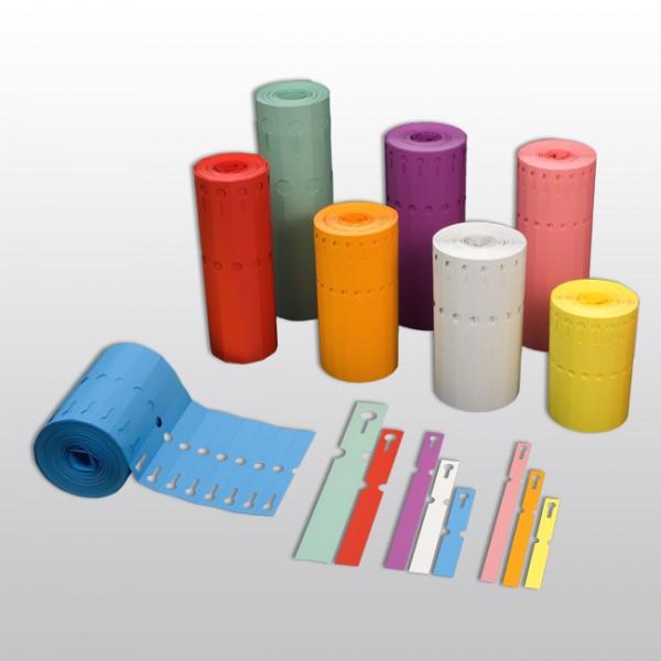 Schlaufenetiketten aus PVC A12
