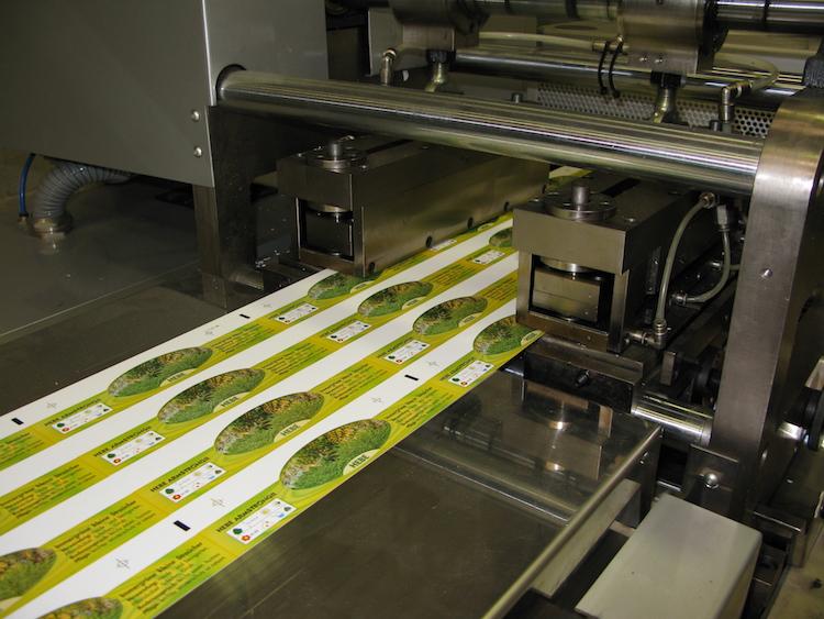Produktion-farbige-Etiketten-Flexodruck