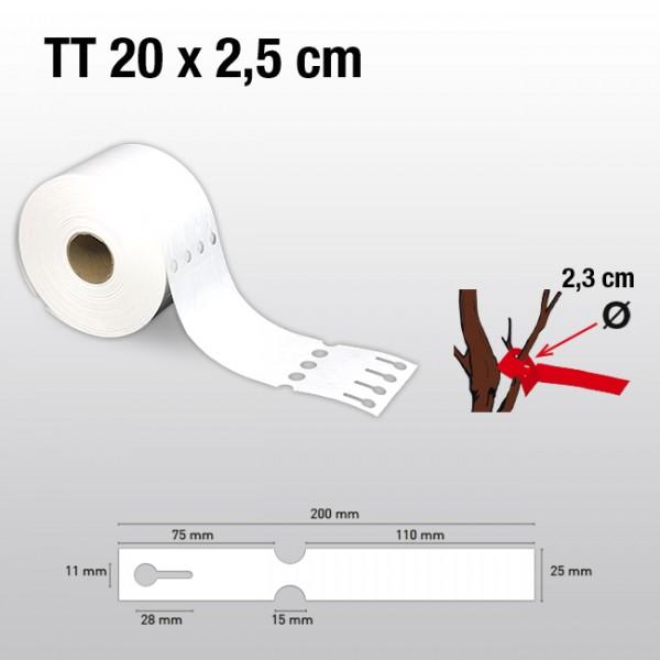 Schlaufenetiketten für Thermotransferdrucker TT25200  HDPE 200µ