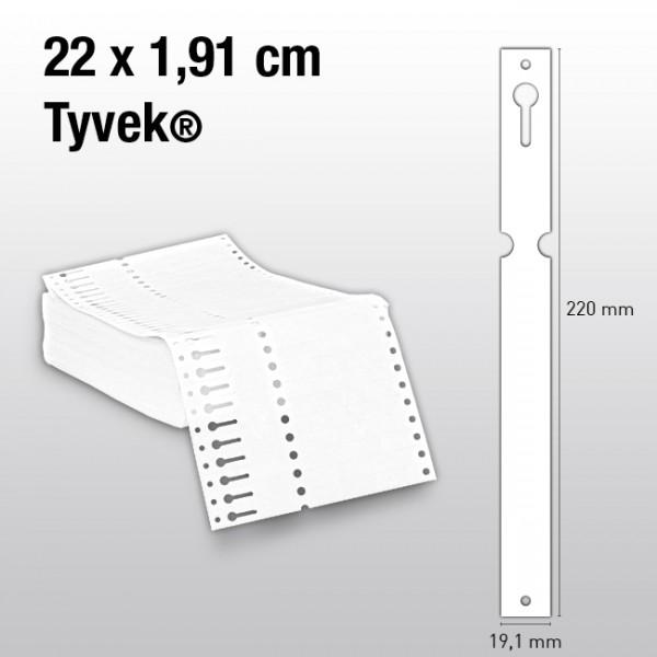 Schlaufenetiketten aus Tyvek ET220
