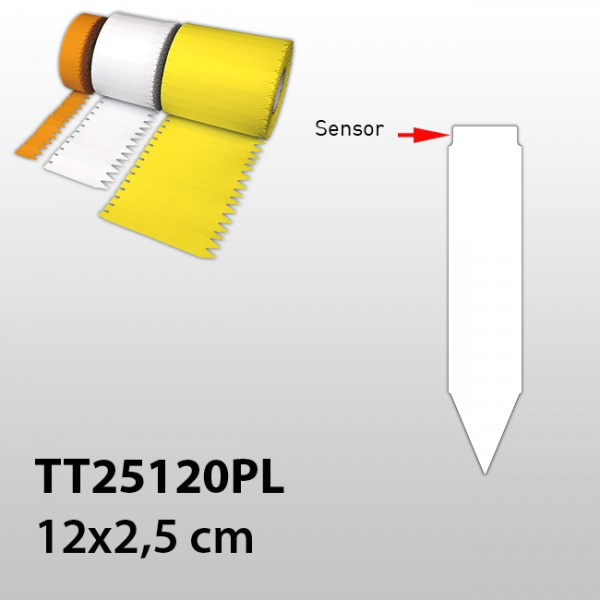 Stecketiketten für Thermotransferdrucker TT25120PL