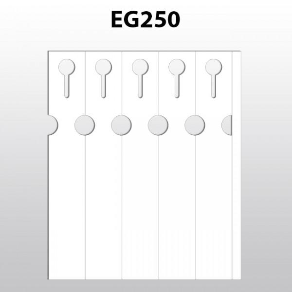 Schlaufenetiketten für Laserdrucker aus Polyester EG250