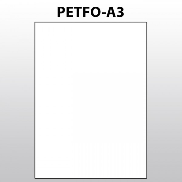 Blattware aus Polyester - A3
