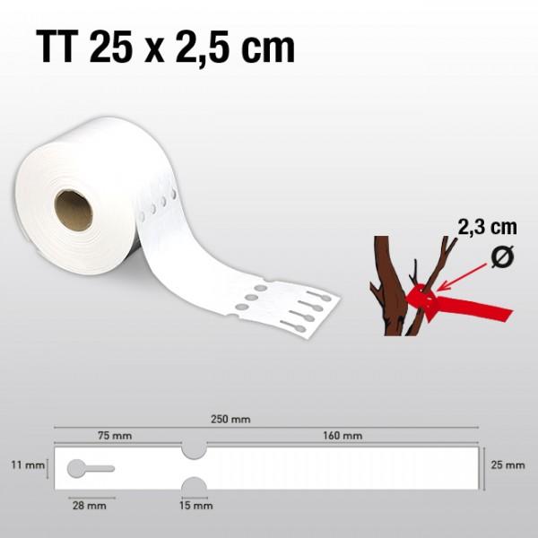 Schlaufenetiketten für Thermotransferdrucker TT25250 HDPE 200µ