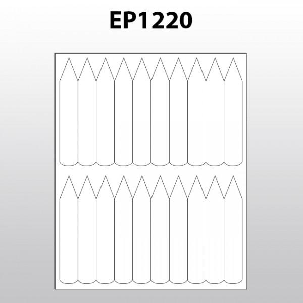 Stecketiketten für Laserdrucker aus Polyester EP1220