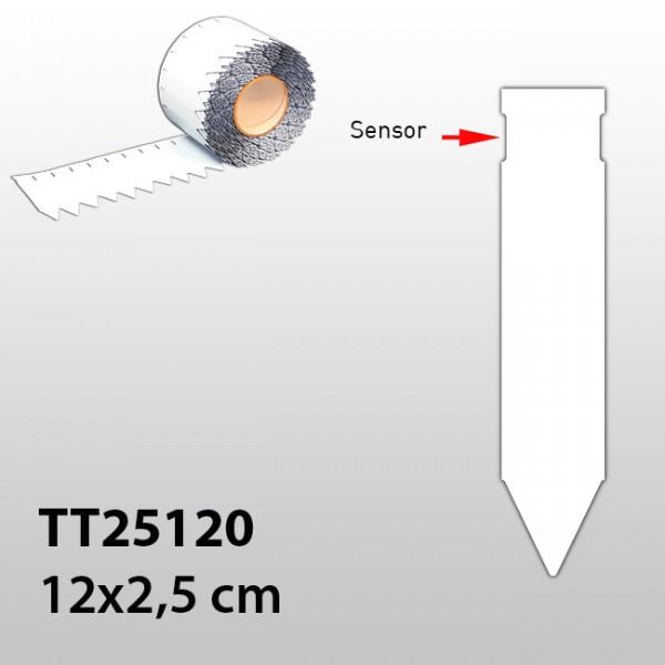 Stecketiketten für Thermotransferdrucker TT25120 PVC 300µ