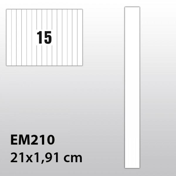 Streifen-Etiketten aus Polyester für Laserdrucker EM210