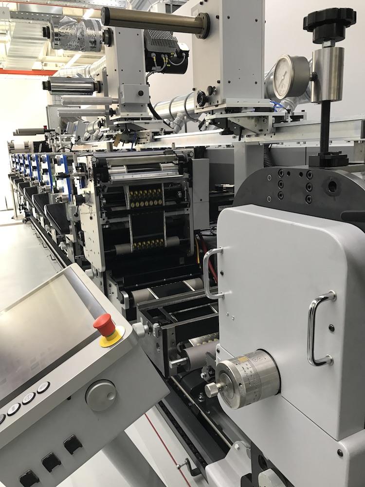 Produktion-Etiketten-Flexodruck