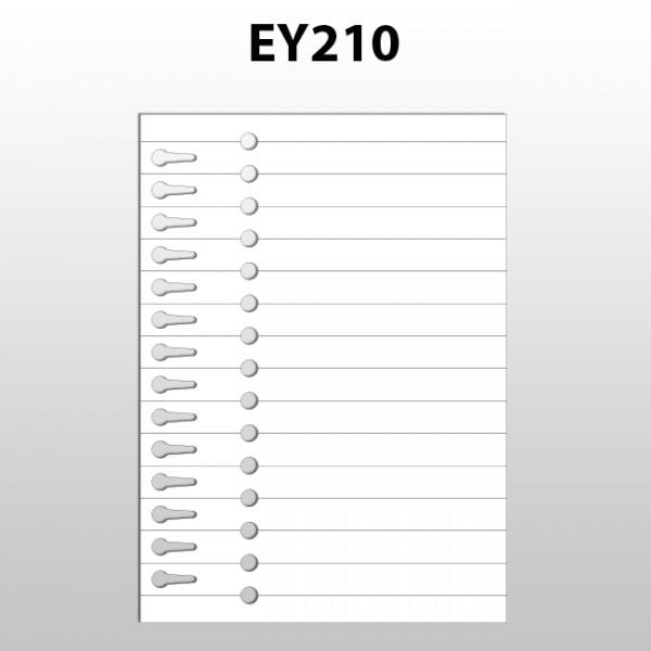 Schlaufenetiketten für Laserdrucker aus Polyester EY210