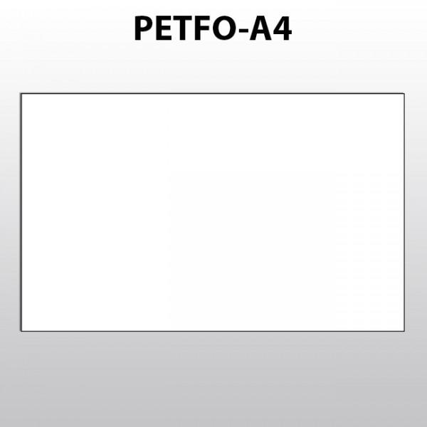 Blattware aus Polyester für Laserdrucker A4